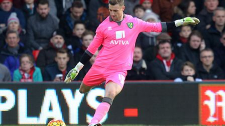 Norwich City goalkeeper Declan Rudd is spending the current season on loan at Charlton. Picture by