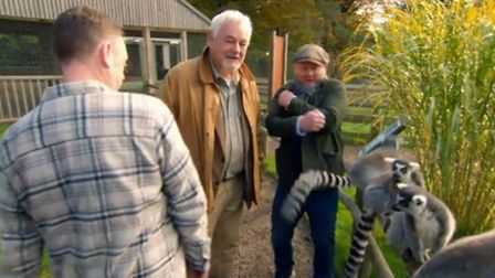 Salvage Hunters visits Banham Zoo in south Norfolk Picture: Quest