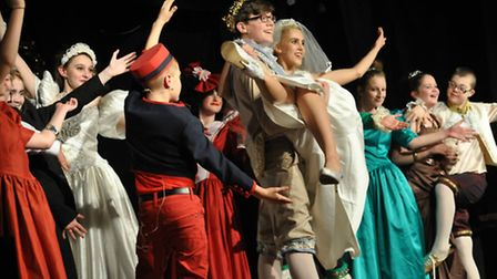 Norfolk Amateur Drama Society's first production, Cinderella, was performed at Wymondham Central Hal