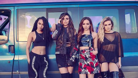 Pop group Little Mix announce summer show at Newmarket Racecourses. Photo supplied by Chuff Media