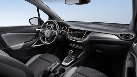 Vauxhall Crossland X compact crossover arrives in summer. Picture: Vauxhall