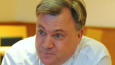 Ed Balls, chairman at Norwich City Football Club, is to join the Loose Women panel. Picture: DENISE