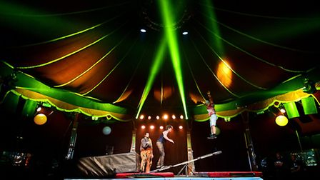White Nights at the Adnams Spiegeltent for the Norfolk and Norwich Festival. Picture: ANTONY KELLY