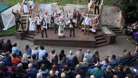 The Ketts Rebellion play being performed by the Common Lot at the Whiffler Theatre in the Castle Gar