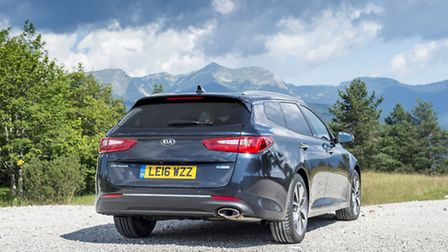 Kia Optima Sportswagon aims to appeal to fleets looking for a well-proportioned, well-priced, well-e