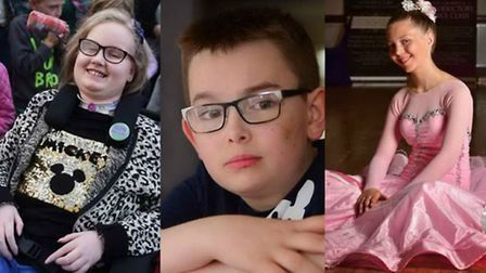 Just some of the heroic children in Norfolk and Waveney in 2016. Picture Archant Library.