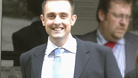 Ben Staff leaving Norwich magistrates court in 2008. Photo: Archant.