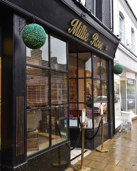 Millie Rose Hair and Beauty in Kirkley. Picture: NICK BUTCHER.