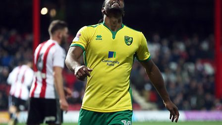 Cameron Jerome rues a missed chance at Brentford. Picture by Paul Chesterton/Focus Images Ltd