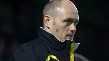 Norwich City manager Alex Neil could try to appeal Robbie Brady's Brentford red card. Picture by Pau