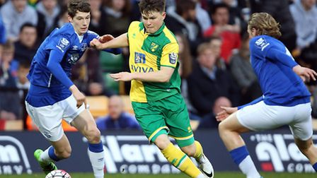 Glenn Middleton has signed a professional contract with Norwich City. Picture: JASON DAWSON/JASONPIX