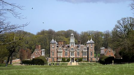 Blickling Hall was a target for fly-tippers. Picture: MARK BULLIMORE