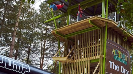 The Drop at Center Parcs' Elveden Forest holiday and leisure village.