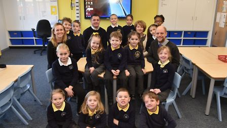 New classrooms are opened at Drake School in Thetford as part of a larger refurbishment of the build