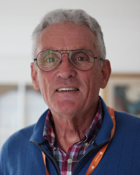 Malcolm Thurston, who volunteers as a community befriender with the Norfolk Community Health and Car