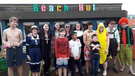 Brave swimmers take on chilly waters for a New Years Day swim