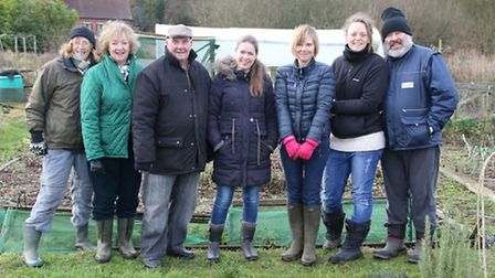 Aldborough Allotments Association is inviting new members to join them. Picture: ALLY McGILVRAY