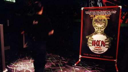 Ikon nightclub in Norwich, 17th August 1997. Photo: Archant Library