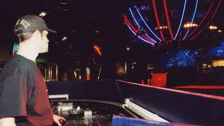 Nightclub Ikon, formely Ritzys. 17th August 1997. Photo: Archant Library