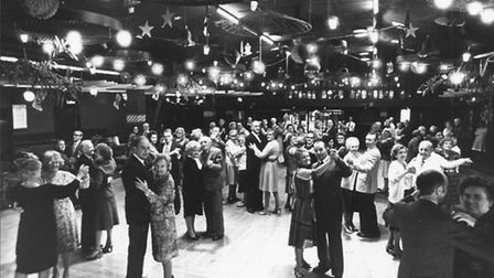 Samson and Hercules Tea Dance. Dated 24 December 1981. Photo: Archant Library
