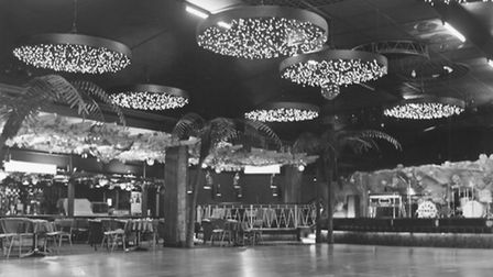 A picture of the main dance floor in the Samson and Hercules which had just had a major facelift inc