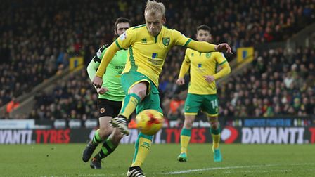 Steven Naismith opened the scoring against Wolves. Picture by Paul Chesterton/Focus Images Ltd