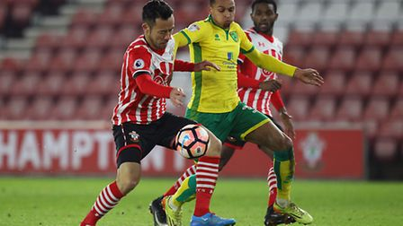 Josh Murphy has been linked with a loan enquiry by Wolves. Picture by Paul Chesterton/Focus Images L