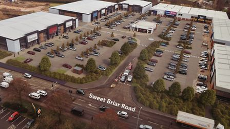Sweet Briar Retail Park owners Eskmuir hold a public exhibition to show the public their plans for e