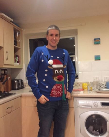 Photo of James Bishop from Norwich who has been named as Earlham Slimming World's Man of the Year. I