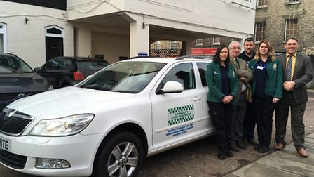 Thetford Community First Responders have been able to purchase a new car thanks to a donation from P