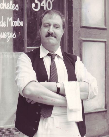 Gorden Kaye as Rene. Picture: Archant Library