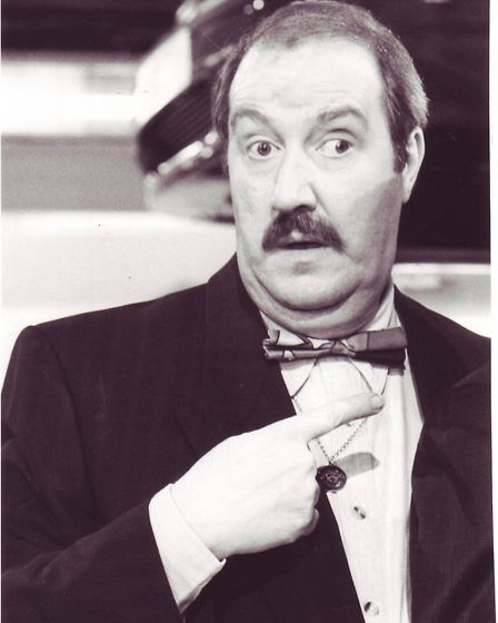Actor Gorden Kaye. Picture: Archant Library