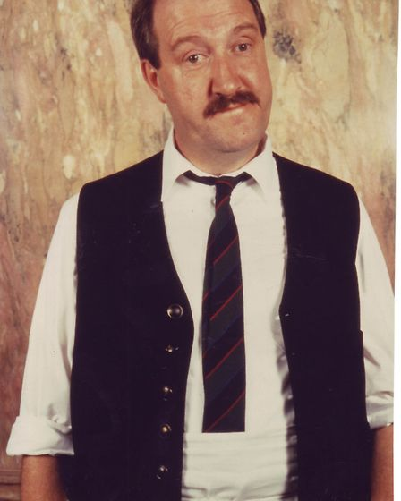 Gorden Kaye. Picture: Archant Library