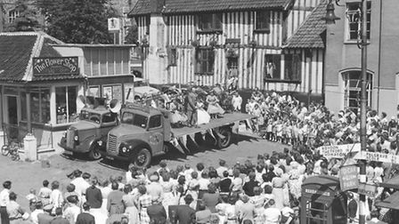 1957 Diss carnival. Picture Archant Library.