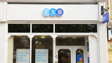 The Norwich Guildhall Hill branch of the TSB. Picture: Denise Bradley