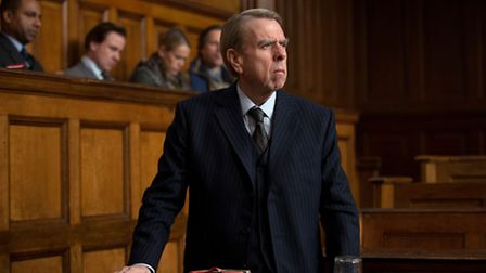 Timothy Spall as David Irving in Denial, Mick Jackson's drama based on a real-life courtroom battle.