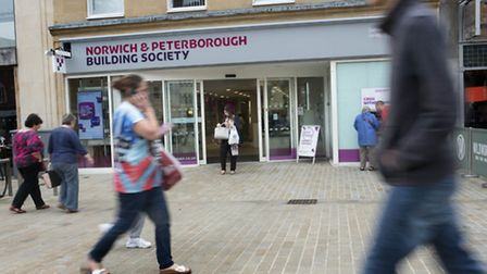 Norwich and Peterborough Building Society in Peterborough. Picture: Mark Bickerdike/Norwich and Pete
