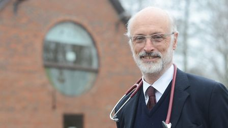 Dr Simon Hibberd is retiring as a GP at Elmham Surgery at the end of March. Picture: Ian Burt