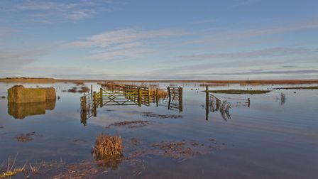 Flooded Salthouse Marshes
