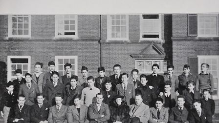 Refugees from the holocaust arrive at St Felix School, Southwold.