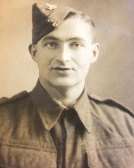 Herbert Pye, who served in the Royal Artillery during the Second World War. Picture: Rebecca Murphy