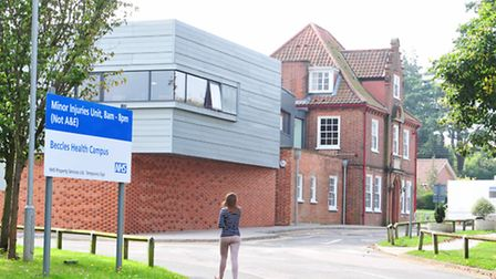 Beccles Health Campus, where the hospital and medical practice is located. Picture: Nick Butcher.