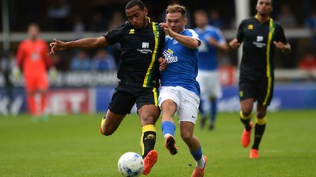 Louis Thompson has been ruled out for the season at Norwich City. Picture by Richard Blaxall/Focus