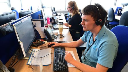 IC24 111 call centre. Picture: ANTONY KELLY