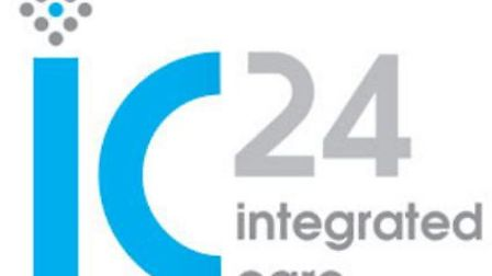 Ic24 Integrated Care logo. Photo supplied by IC24.