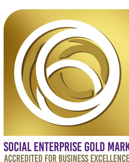 Social Enterprise Gold Mark. Image supplied by IC24