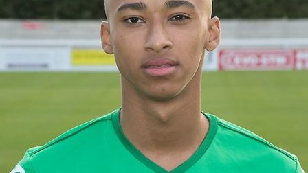 Cohen Bramall pictured during his time at Nantwich Town FC in the 2014-2015 season. Picture: NANTWI