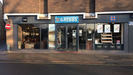 Greggs on Mere Street in Diss. Picture: Rebecca Murphy