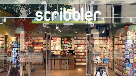 Scribbler on Sauchiehall Street, Glasgow. The popular card and gift chain is coming to Norwich on Ja