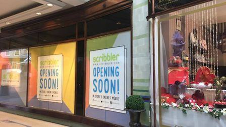 Scribbler card shop is opening in the Royal Arcade, Norwich Picture: Louisa Baldwin